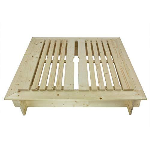 Impex Aroso Sandkasten mit Deckel von DEMA - 3