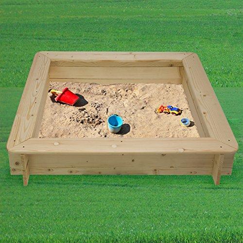 Impex Aroso Sandkasten mit Deckel von DEMA - 7