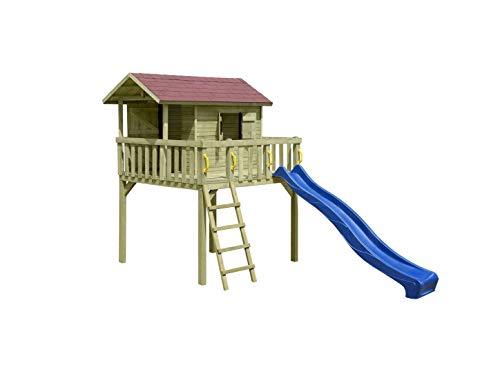 Spielhaus Mit Sommerküche : Stelzenhaus spielhaus mit rutsche sandkastenfreun