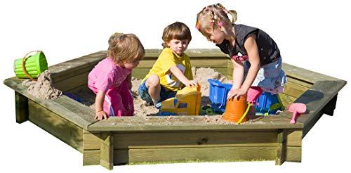 Sandkasten 6-eck von Gartenpirat®