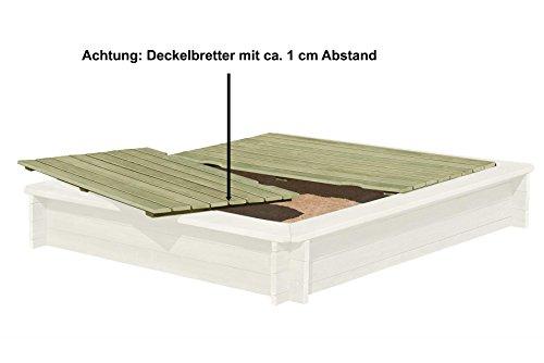 Sandkasten aus Rundholz von Gartenpirat® - 3