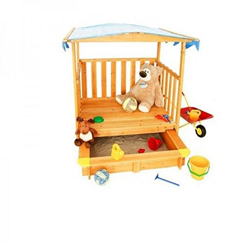 Sandkasten mit Spielhaus von Coemo