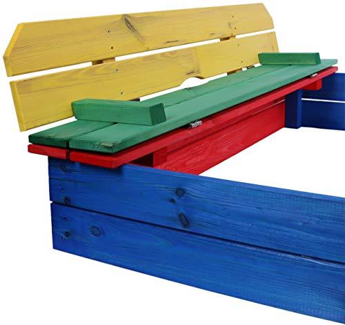 Sandkasten mit Sitzbank und Dach von JosefSteiner - 4