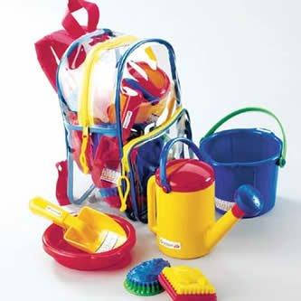 Rucksack mit Sandspielzeug von Spielstabil 7121