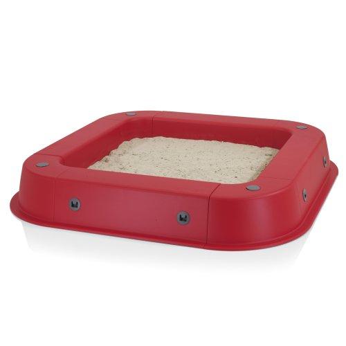 Sandkasten aus Kunststoff rot von Kettler S07022-0010 - 5
