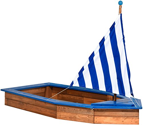 Sandkasten Schiff aus Holz von Dobar 94600FSC - 2
