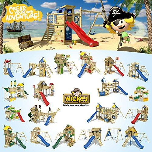 Spielhaus mit Sandkasten Monkey Island von WICKEY - 5