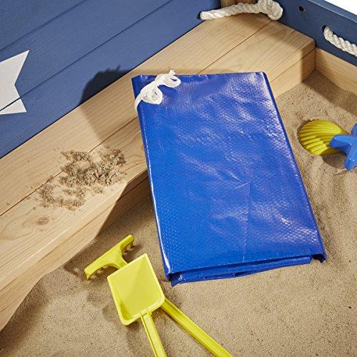 Sun Sandkasten Schiff XL Massivholz by Woodinis® - 3