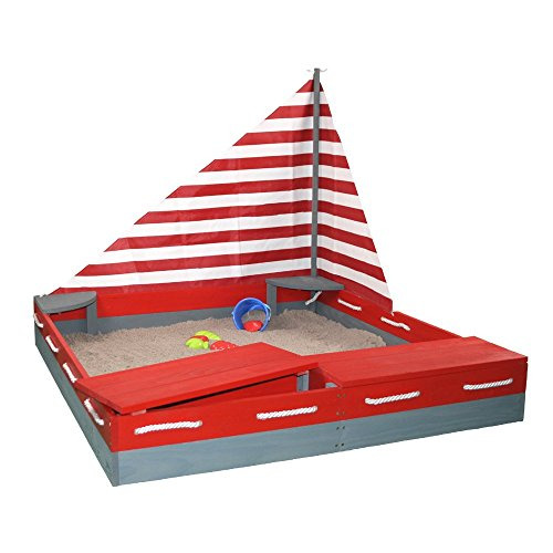 Sun Sandkasten SEEFAHRER by Woodinis-Spielplatz® - 2