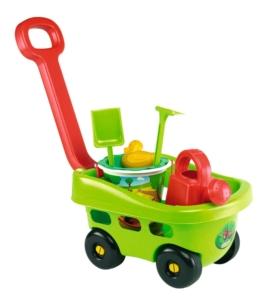 Sandspielzeug Handwagen Garten mit Eimergarnitur