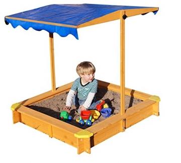 sandkasten-mit-verstellbarem-dach-inkl-bodenplane-sitzecken-und-lasur-1
