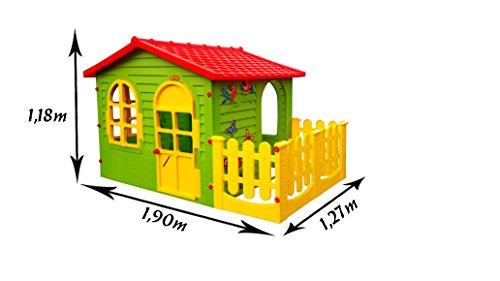 spielhaus kinderspielhaus mit terrasse xxl fuer drinnen und draussen gartenhaus kinderhaus. Black Bedroom Furniture Sets. Home Design Ideas