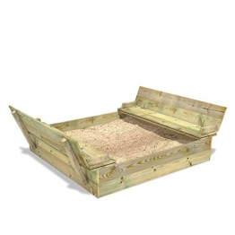 sandkasten aus holz die besten angebote. Black Bedroom Furniture Sets. Home Design Ideas